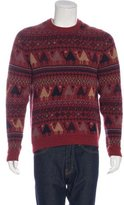 Paul Smith Wool-Blend Intarsia Sweater