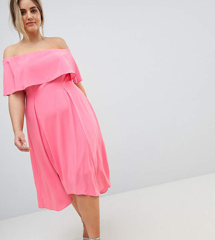 Coast Plus Bonnie Midi Dress
