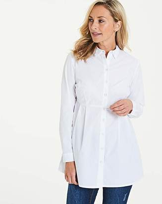 Capsule The Fit and Flare White Shirt