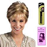 Tori by Estetica, Wig Galaxy Hair Loss Booklet & Magic Wig Styling Comb/Metal Pick Combo (Bundle - 3 Items), Color Chosen: R38