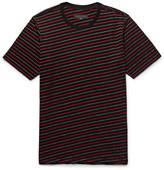 Rag & Bone Colin Striped Cotton-blend Jacquard T-shirt
