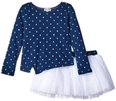 Splendid Littles Indigo Tutu Dress Star Print Girl's Active Sets