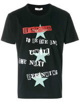 Valentino it Seemed To Be The End Until The Next Beginning T-shirt - Black - Size M