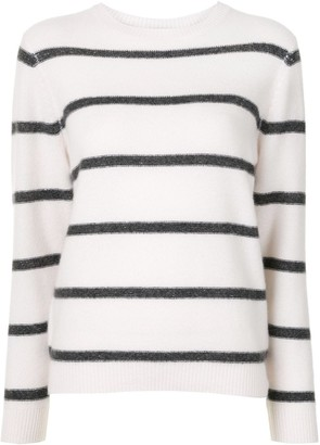 Le Kasha Horizontal-Stripe Knitted Jumper