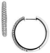 Nordstrom Bony Levy 20mm Diamond Hoop Earrings Exclusive)