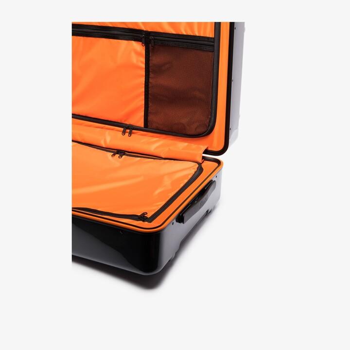 Floyd Tarmac grey check-in suitcase