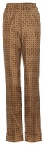 Michael Kors Printed silk trousers