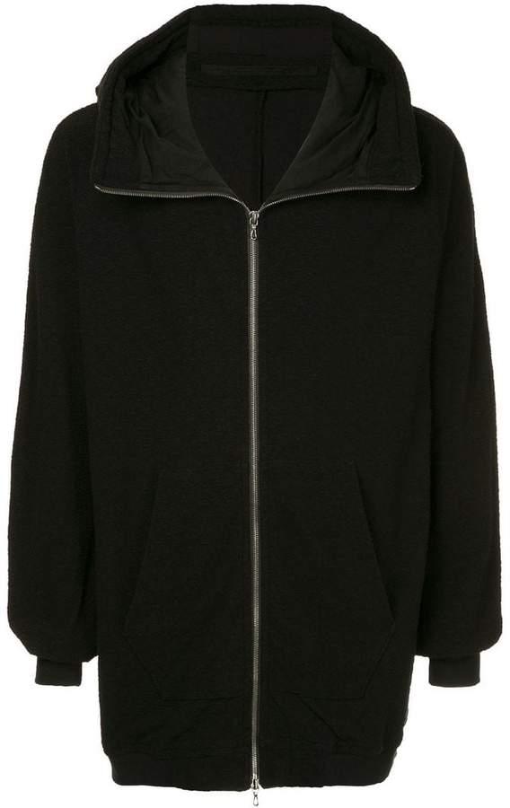 Julius hooded zip-up jacket
