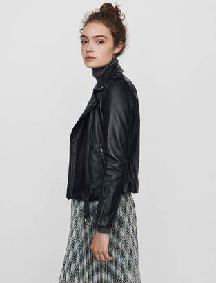 Maje Leather biker jacket and belt