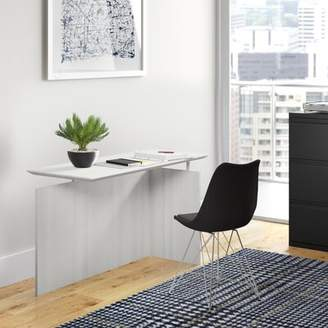 Symple Stuff Vandusen Reversible Desk Finish: Grey Steel