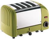 Dualit Classic Heritage Toaster - Citrine - 4 Slot