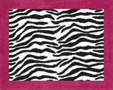 Funky Zebra Accent Floor Rug by Sweet Jojo Designs