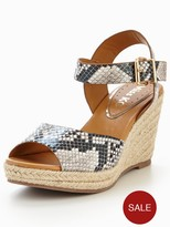 Miss KG Paisley Two Part Wedge Sandal