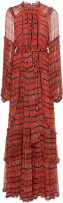 Ulla Johnson Sabina Printed Silk Dress