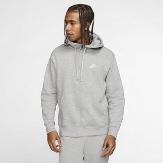 Nike Men's Full-Zip Hoodie Sportswear Club Fleece