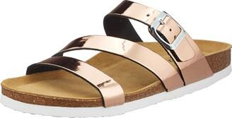 ara Shoes Women's Sandals Felipa Rosegold Metallic 10.5US