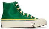 Converse Green Breaking Down Barriers Edition Celtics Chuck Cooper Chuck 70 High Sneakers