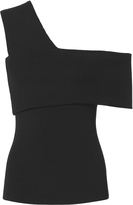 Exclusive for Intermix Kaitlin Asymmetrical One Shoulder Knit Top