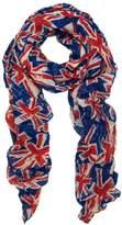 Trends UK British Flag Union Jack Small Print Fashion Scarf