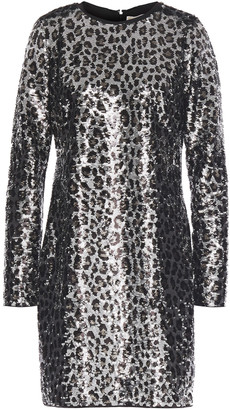 MICHAEL Michael Kors Sequined Jersey Mini Dress