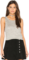 Chaser Pocket Shirttail Muscle Tee in Gray. - size L (also in M)