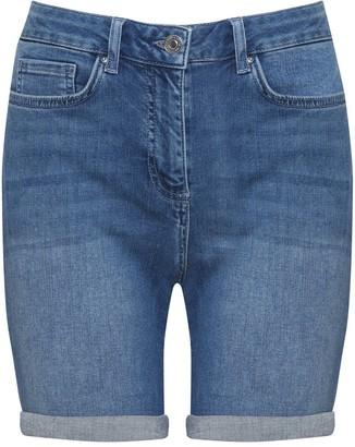 M&Co Petite denim shorts