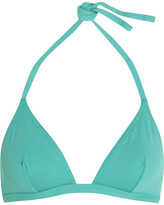 Eres Les Essentiels Voyou Triangle Bikini Top - Turquoise