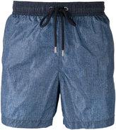 Moncler contrast pocket swim shorts