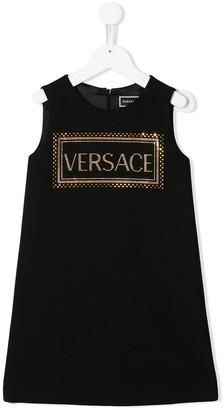 Versace Crystal Embellished Tank Dress