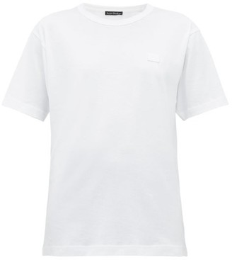 Acne Studios Nash Face Cotton-jersey T-shirt - Womens - White