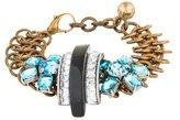 Lulu Frost Triple Deco Crystal Bracelet