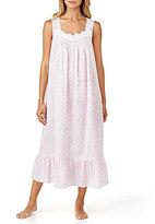 Eileen West Rose-Print Lawn Ballet Nightgown