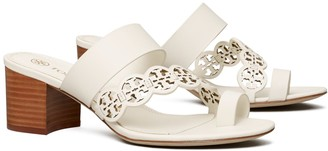 Tory Burch Tiny Miller Heeled Sandal, Leather