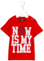 Diesel Tevek T-shirt - kids - Cotton - 12 mth
