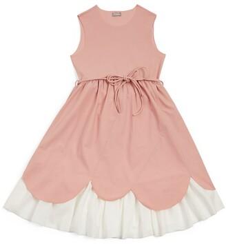 Il Gufo Scalloped-Hem Dress (3-12 Years)