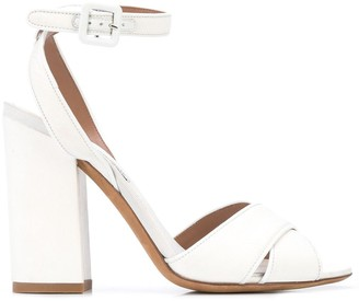 Tabitha Simmons Criss-Cross Sandals