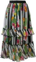 Blugirl floral print skirt - women - Silk/Polyester - 38
