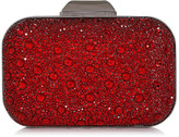 Jimmy Choo CLOUD Red Crystal Covered Clutch Bag