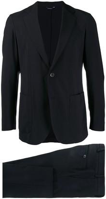 Tombolini stitching detail suit