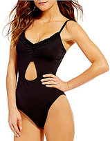 Kenneth Cole Reaction For The Frill Of It Keyhole Baby Ruffle One-Piece