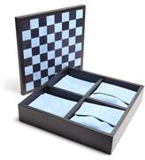 Smythson Grosvenor Leather Triple Game Set