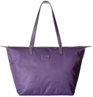 Lipault Paris Lady Plume Tote Bag M (Black) Bags