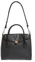 MICHAEL Michael Kors Large Mercer All-In-One Leather Satchel - Black