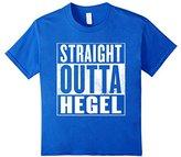 Kids Hegel T-Shirt - STRAIGHT OUTTA HEGEL Shirt 4