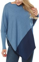 Peter Nygard Colorblock Poncho