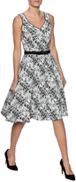 Debbie Shuchat Printed Fit And Flare