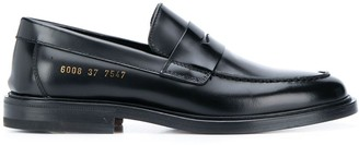 Common Projects Embossed Logo Loafers
