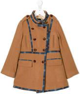 Oscar De La Renta Kids front button coat