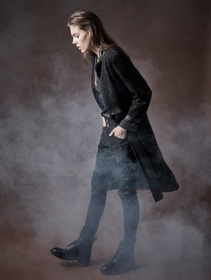 NU DENMARK - Buena Long Line Blazer Black - XS