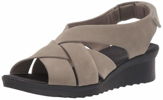 Clarks Women's Caddell JENA Wedge Sandal